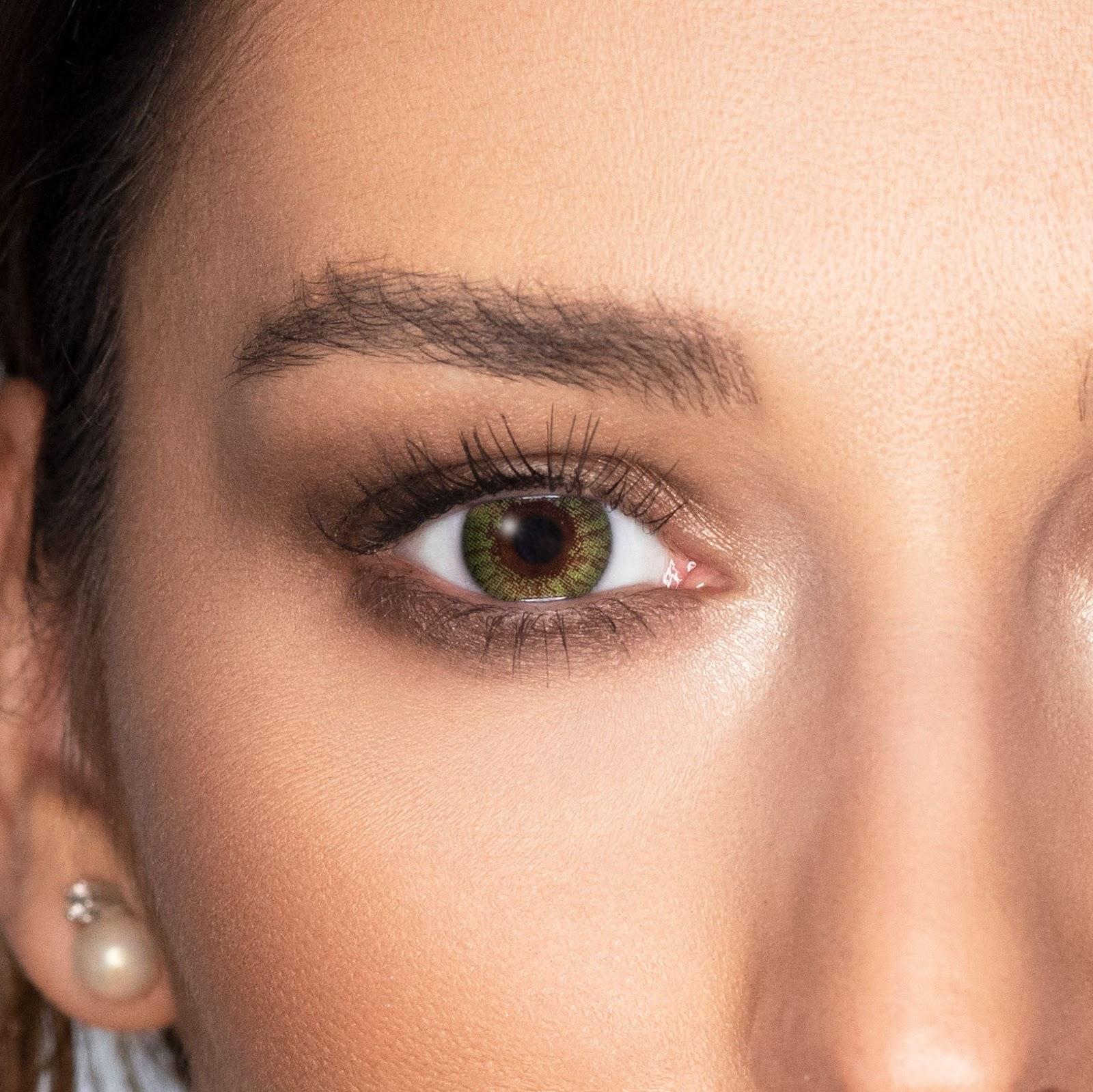 lentile colorate pentru ochi verzi Freshlook colors