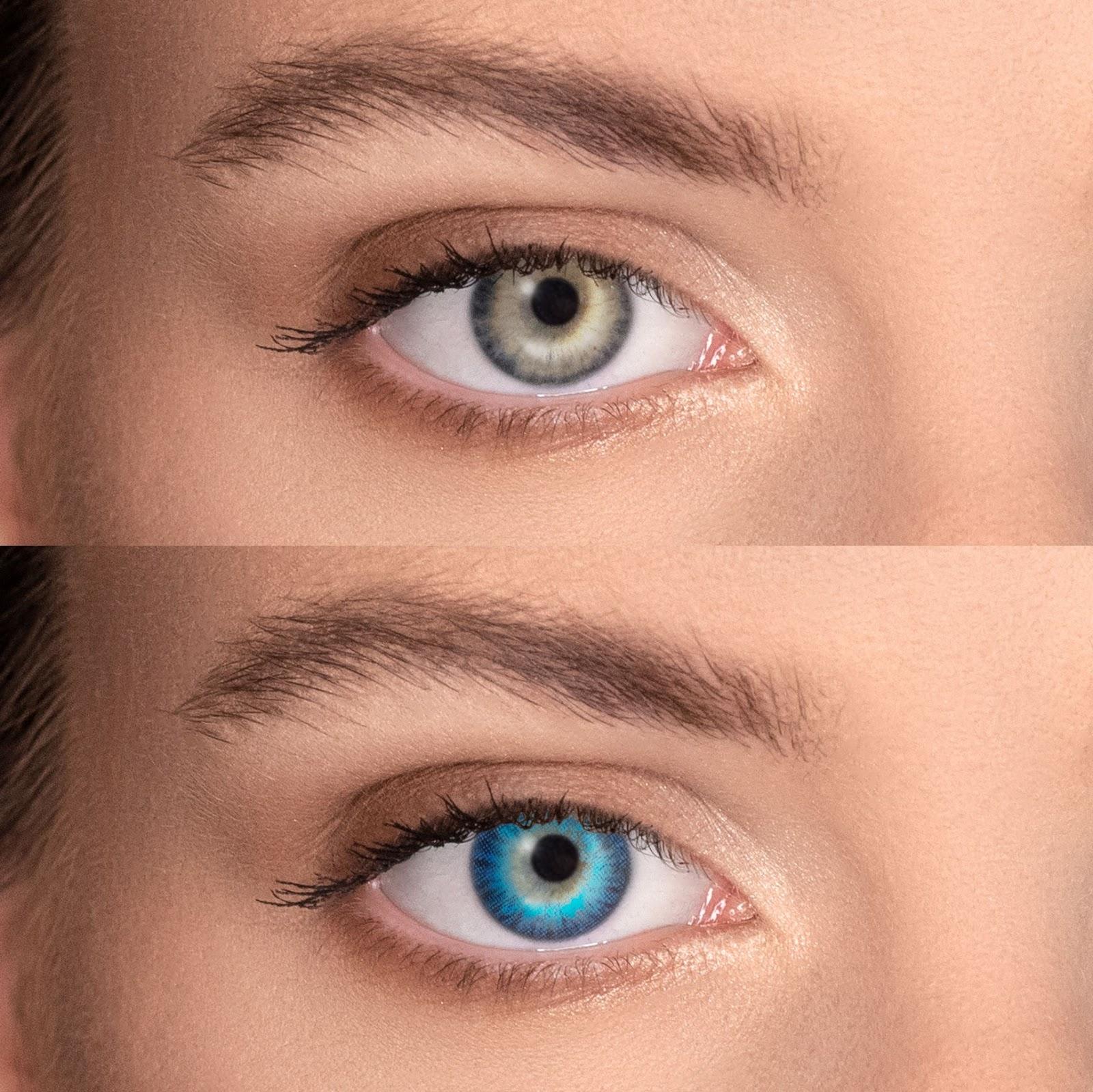 Descoperă cele mai frumoase lentile colorate pentru părul șaten, laVidet.