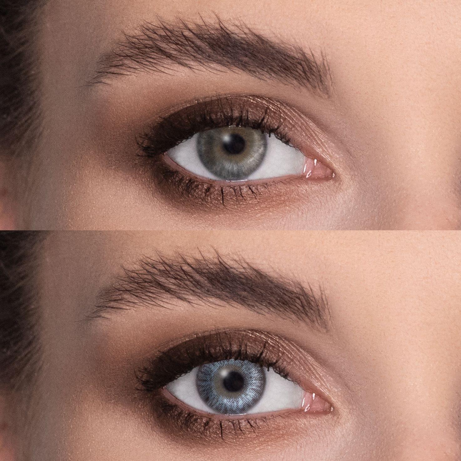 Alege din zeci de lentile colorate potrivite pentru părulblond.
