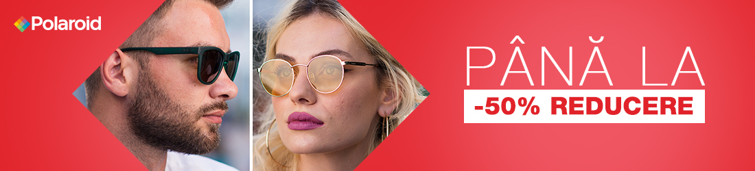 Ochelari de soare Polaroid cu -50% discount