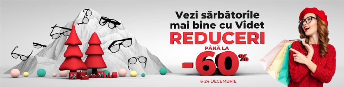 Reduceri masive de până la -60% la ochelari de vedere, ochelari de soare și lentile de contact. Vezi ce oferte ți-am pregătit!