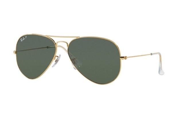 Ochelari de soare polarizați Ray-Ban Original Aviator RB3025 - 001/58