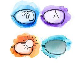 Lentilele ochelarilor: Cum le alegem?