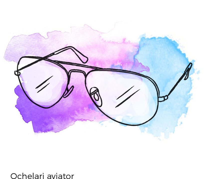 ochelari de vedere aviator