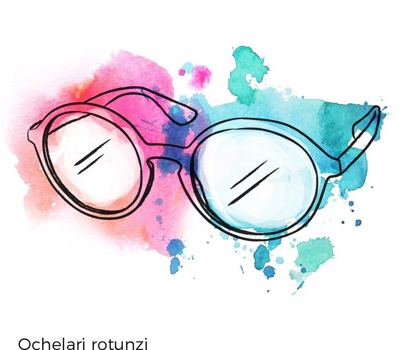 ochelari vedere rotunzi