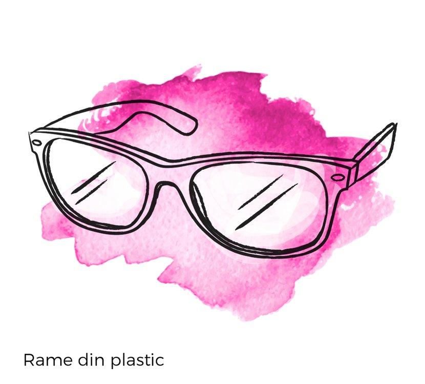 rame ochelari plastic