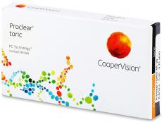 Lentile de contact torice / pentru astigmatism - Proclear Toric XR (3 lentile)