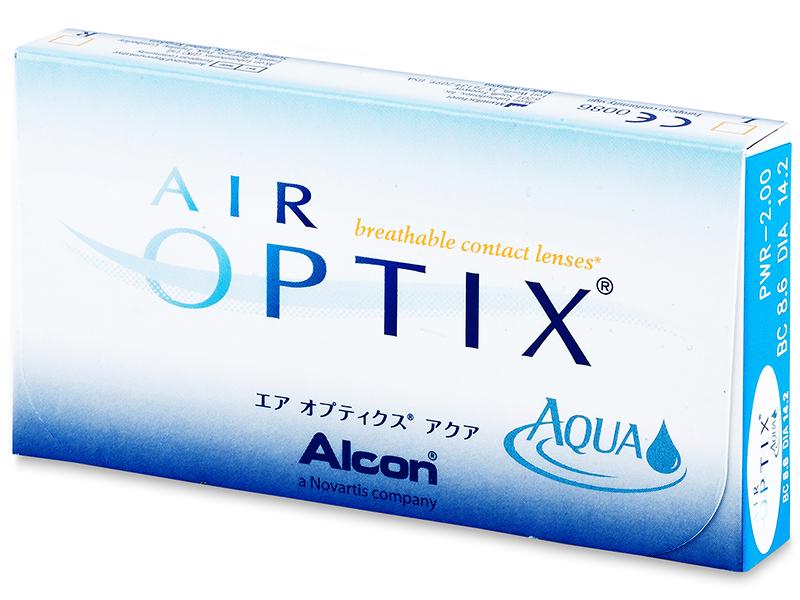 Air Optix Aqua (3lentile) - Design-ul vechi