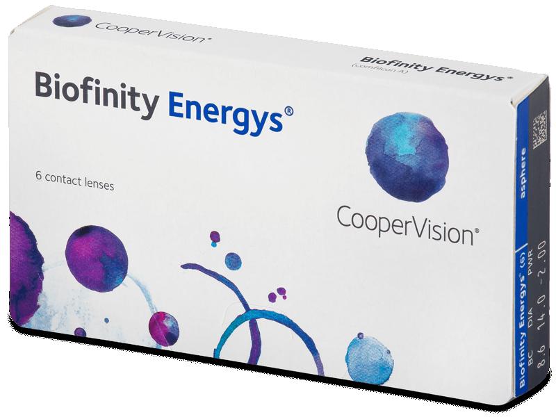 Biofinity Energys (6 lentile) - Lentile de contact lunare
