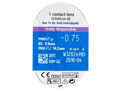 SofLens Daily Disposable (90lentile) - Vizualizare ambalaj