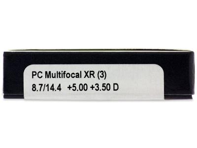 Proclear Multifocal XR (3 lentile) - Parametrii lentilei