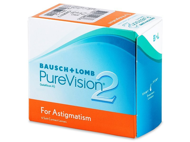 PureVision 2 for Astigmatism (6lentile) - Lentile de contact torice - Bausch and Lomb
