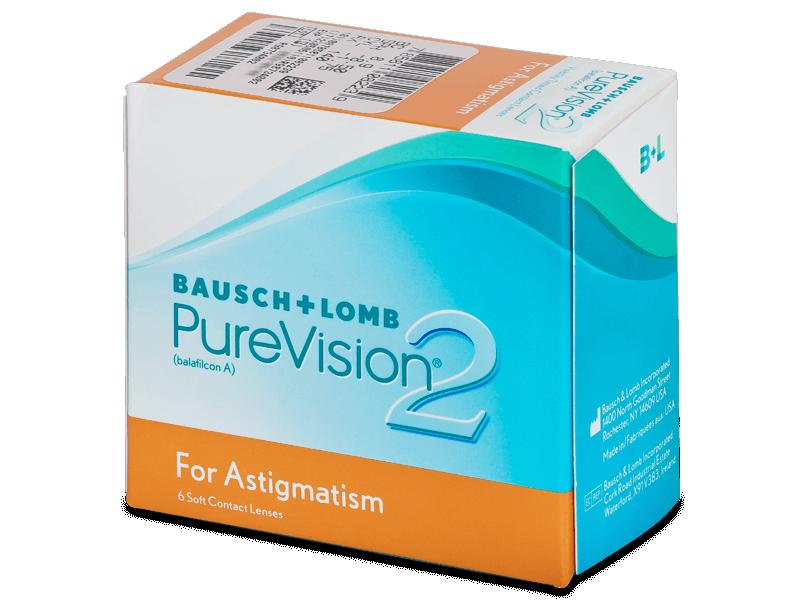 PureVision 2 for Astigmatism (6lentile) - Lentile de contact torice