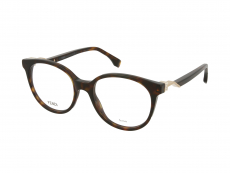Ochelari de vedere Fendi - Fendi FF 0202 086