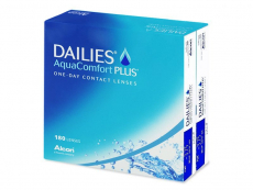 Lentile de contact Alcon - Dailies AquaComfort Plus (180 lentile)