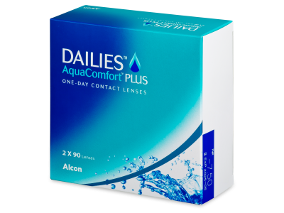 Dailies AquaComfort Plus (180lentile) - Lentile de contact de unică folosință