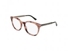 Ochelari de vedere Ovali - Gucci GG0219O-010