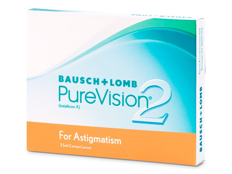 PureVision 2 for Astigmatism (3 lentile) - Lentile de contact torice - Bausch and Lomb