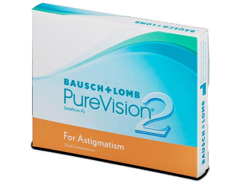 PureVision 2 for Astigmatism (3lentile) - Lentile de contact torice