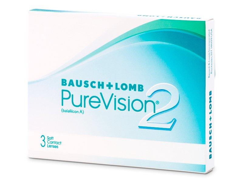 PureVision 2 (3lentile) - Lentile de contact lunare - Bausch and Lomb