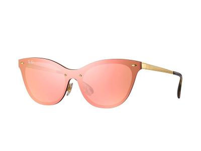 Ochelari de soare Ray-Ban Blaze Cat Eye RB3580N 043/E4