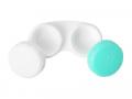 Suport pentru lentile verde&alb