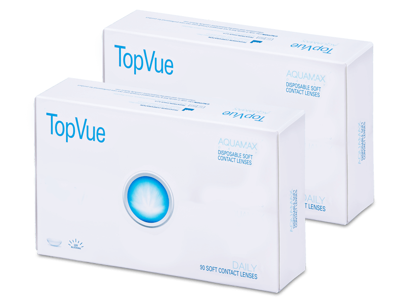 TopVue Daily (180lentile) - Lentile de contact de unică folosință