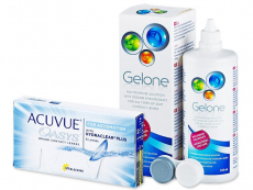 Pachete economice soluții și lentile de contact - Acuvue Oasys for Astigmatism (6lentile) +soluțieGelone360 ml