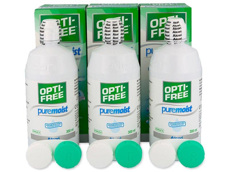 Soluție OPTI-FREE PureMoist 3x300ml