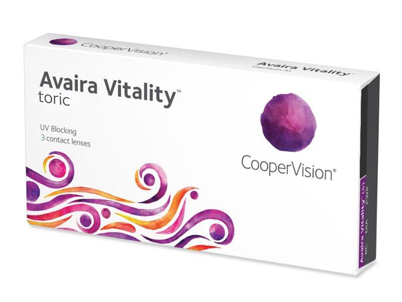 Avaira Vitality Toric (3 lentile) - Lentile de contact torice