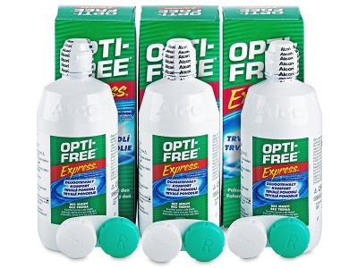 Soluție OPTI-FREE Express 3x355ml  - Design-ul vechi