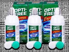 Soluție OPTI-FREE Express 3x355ml  - Pachete speciale cu 3 soluții