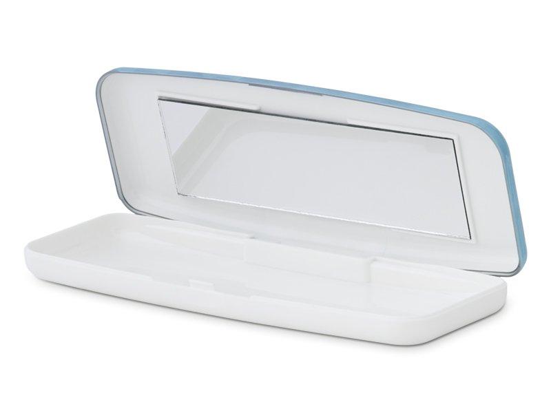 Casetă pentru lentile de unică folosință - albastra