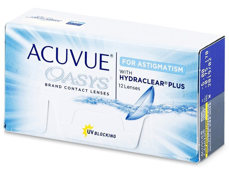 Acuvue Oasys for Astigmatism (12 lentile)