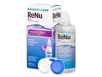 Soluție ReNu MPS Sensitive Eyes 120 ml  - Design-ul vechi