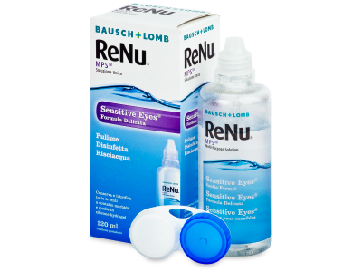 Soluție ReNu MPS Sensitive Eyes 120 ml