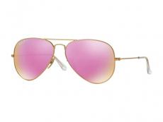 Ochelari de soare Aviator - Ray-Ban Aviator Flash Lenses RB3025 112/1Q