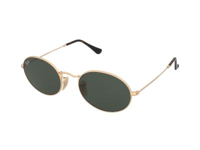 Ochelari de soare Ray-Ban Oval Flat Lenses RB3547N 001