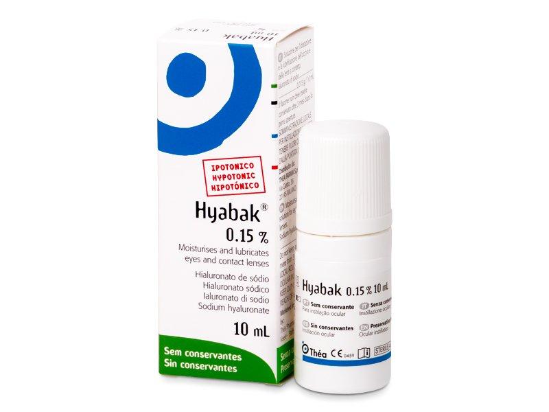 Hyabak 0.15% 10 ml  - Picături de ochi