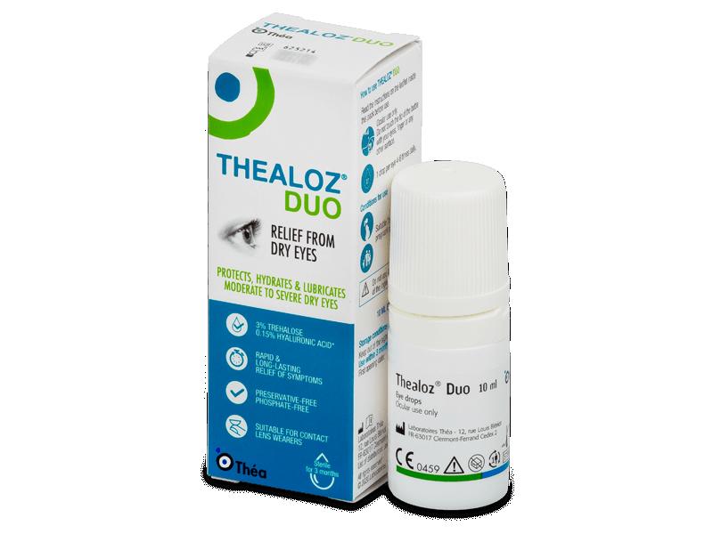 Thealoz Duo 10 ml  - Picături de ochi