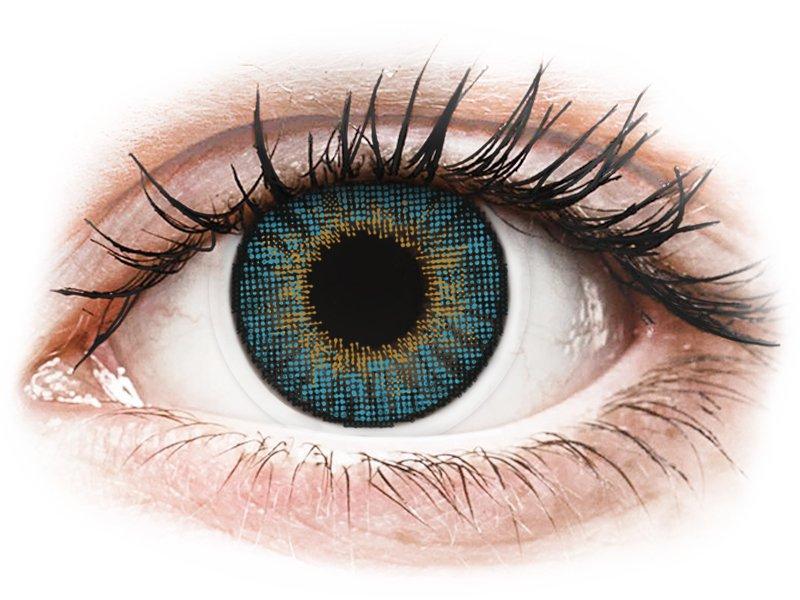 Air Optix Colors - Blue - fără dioptrie (2 lentile) - Lentile de contact colorate