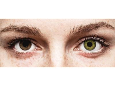 Air Optix Colors - Gemstone Green - fără dioptrie (2 lentile)