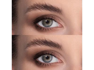 Air Optix Colors - Grey - fără dioptrie (2 lentile)