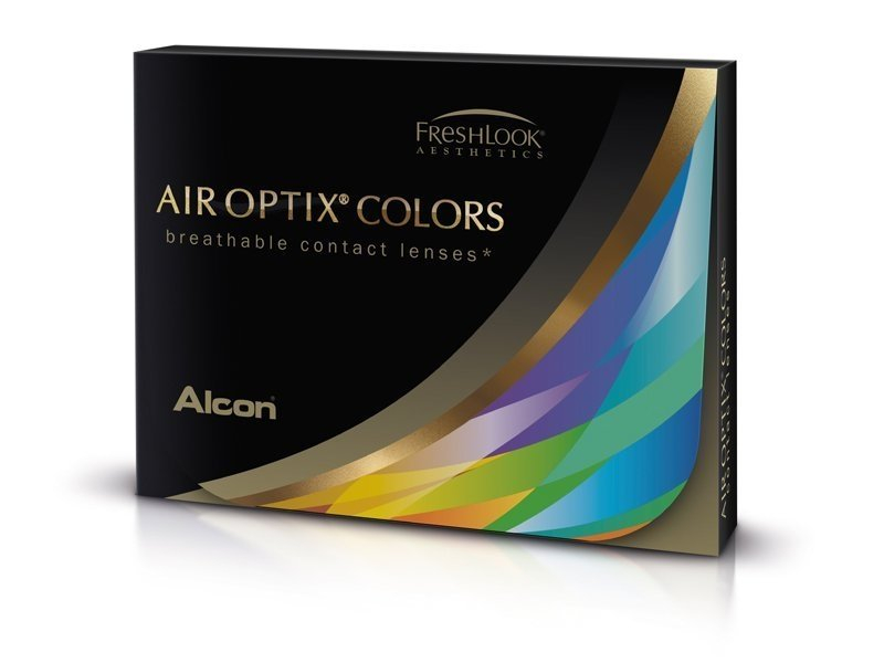 Air Optix Colors - Honey - fără dioptrie (2 lentile)
