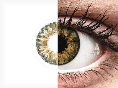 Air Optix Colors - Pure Hazel - fără dioptrie (2 lentile)
