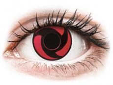 Maxvue Vision - ColourVUE Crazy Lens - Mangekyu - fără dioptrie (2 lentile)
