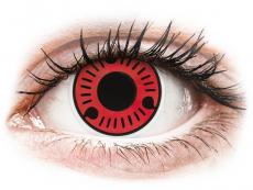 Maxvue Vision - ColourVUE Crazy Lens - Sasuke - fără dioptrie (2 lentile)
