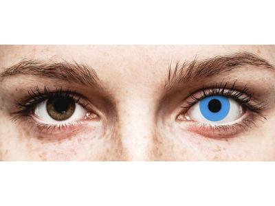 ColourVUE Crazy Lens - Sky Blue - fără dioptrie (2 lentile)