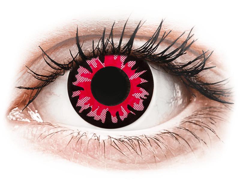 ColourVUE Crazy Lens - Volturi - fără dioptrie (2 lentile) - Lentile de contact colorate