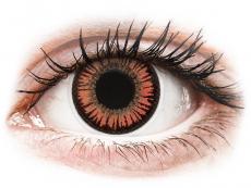 Maxvue Vision - ColourVUE Crazy Lens - Vampire - fără dioptrie (2 lentile)